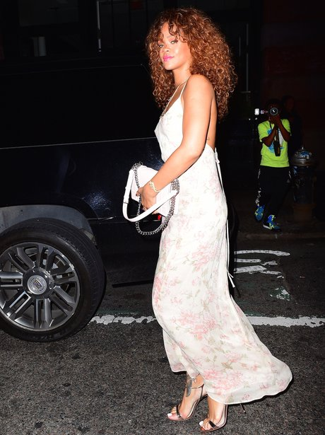 Rihanna Long Dress