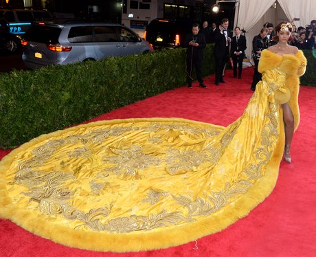 Rihanna MET Gala Dress 2015