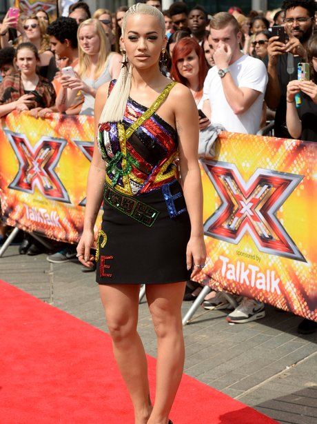 Rita Ora X Factor 2015
