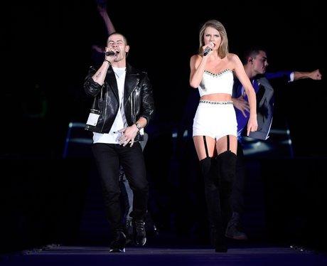 Taylor Swift and Nick Jonas