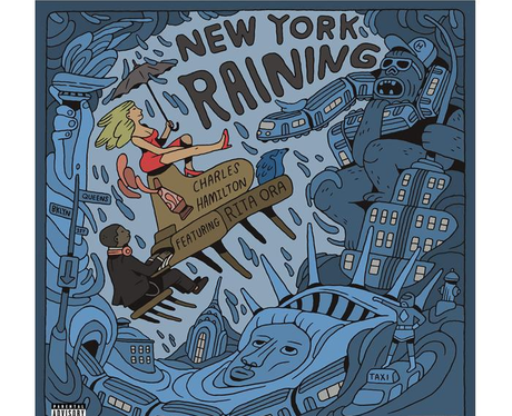 Charles Hamilton New York Raining Capital Artwork