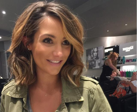 Frankie Bridge New Bob Hair