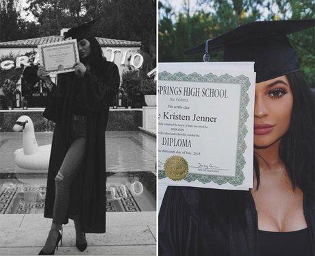 Kylie Jenner Graduation