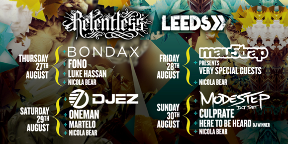 Leeds Festival Relentless Stage