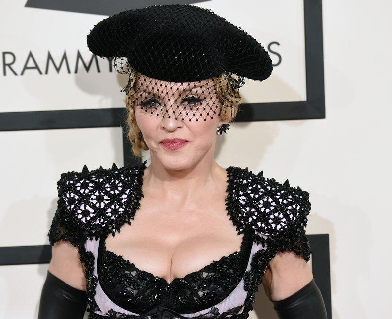 Madonna at Grammys