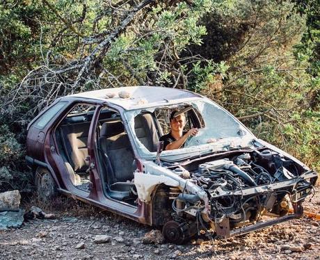 Martin Garrix in a Car Wreck