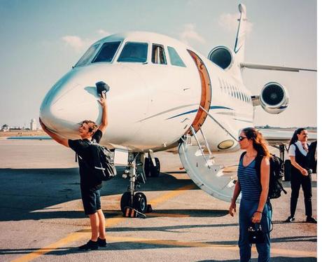 Martin Garrix Private Jet Instagram