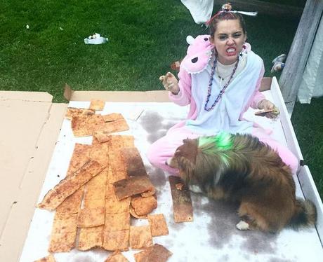 Miley Cyrus Weird Instagram