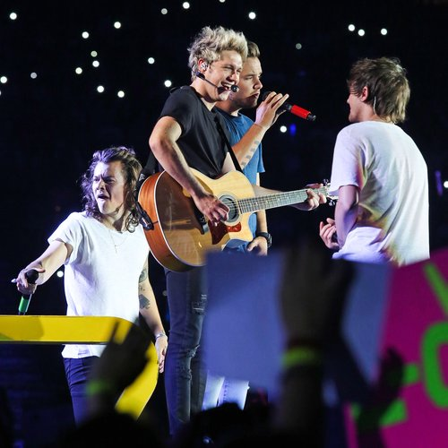One Direction on tour 2015