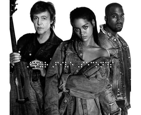 Rihanna FourFiveSeconds Capital Artwork 2015