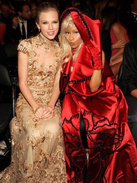 Taylor Swift and Nicki Minaj  together