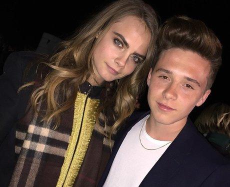 Cara delevingne and Brooklyn Beckham