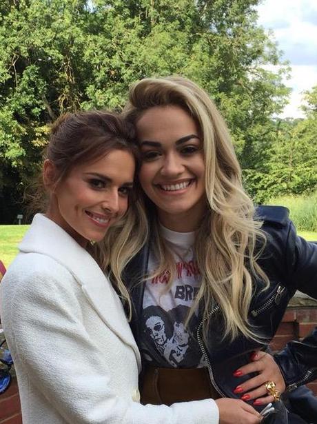 Cheryl Fernandez-Versini and Rita Ora Boot