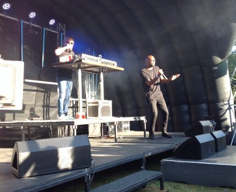 DJ Fresh at Langley Festival
