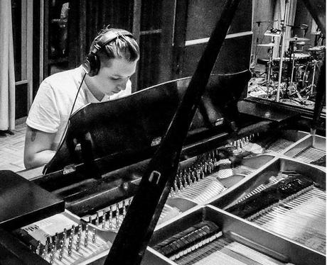 John Newman in the studio