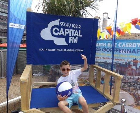 Sinclair VW At Cardiff Bay Beach - 30.07.2015