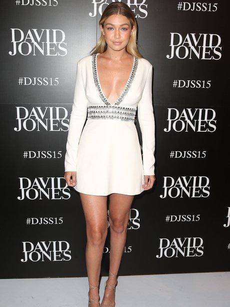 Gigi Hadid  White dress