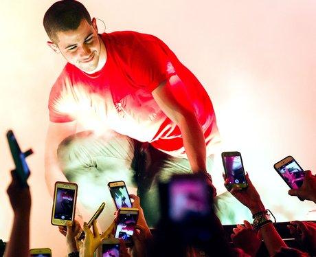 Nick Jonas at Drai's Nightclub