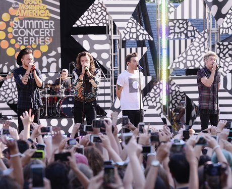 One Direction Good Morning America 2015