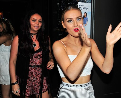Perrie Edwards pictured after her split from Zayn