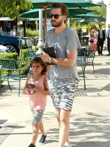 Scott Disick and Son Mason