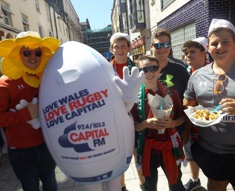 Spot The Ball @ Wales v Ireland