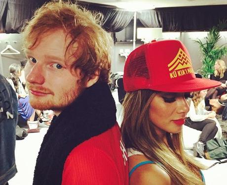 Ed Sheeran & Nicole Scherzinger