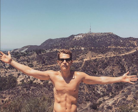James McVey Topless