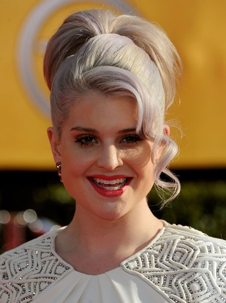 Kelly Osbourne Silver Hair