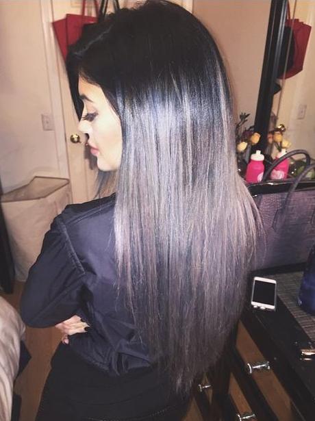 Kylie Jenner Grey Hair