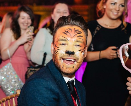 Liam Payne tiger facepaint