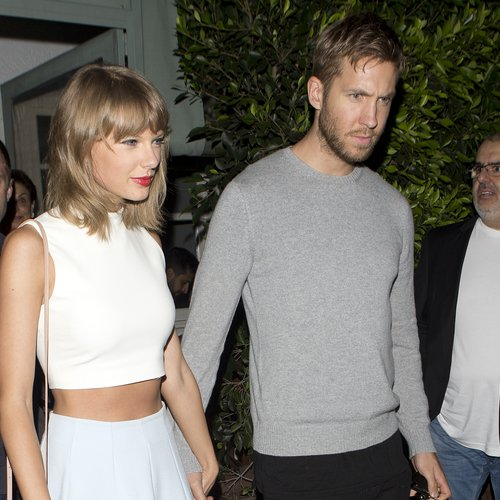 Calvin Harris and Taylor Swift on a date