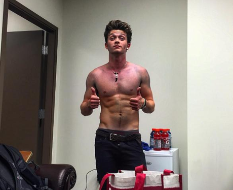 Connor Ball The Vamps Abs Instagram