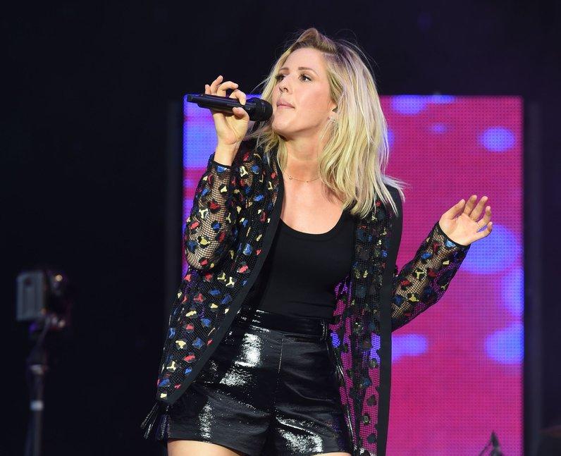 Ellie Goulding at V Festival 2015