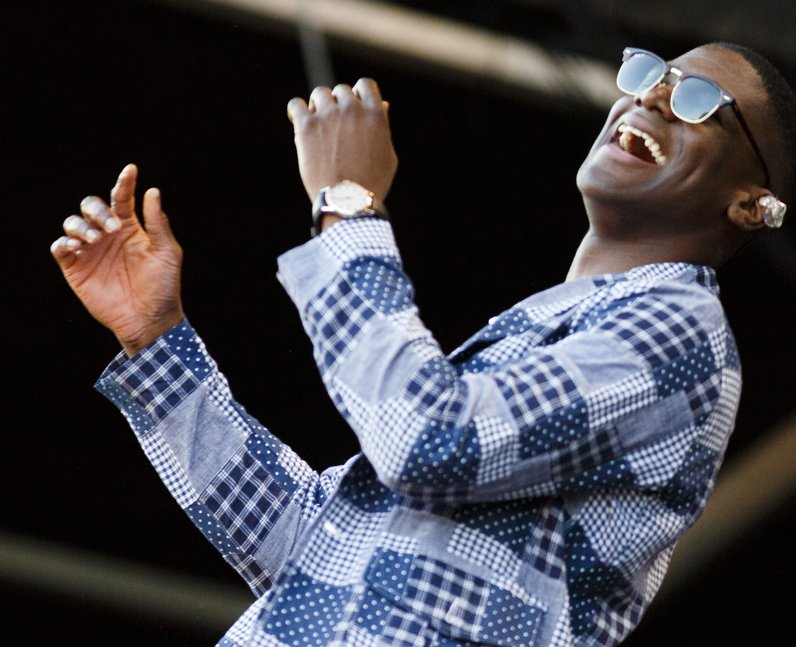 Labrinth at V Festival 2015
