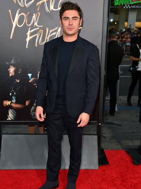 Zac Efron at  'We Are Your Friends' premiere