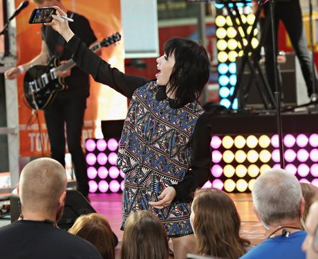 Carly Rae Jepsen performs on NBC's 'Today' show in