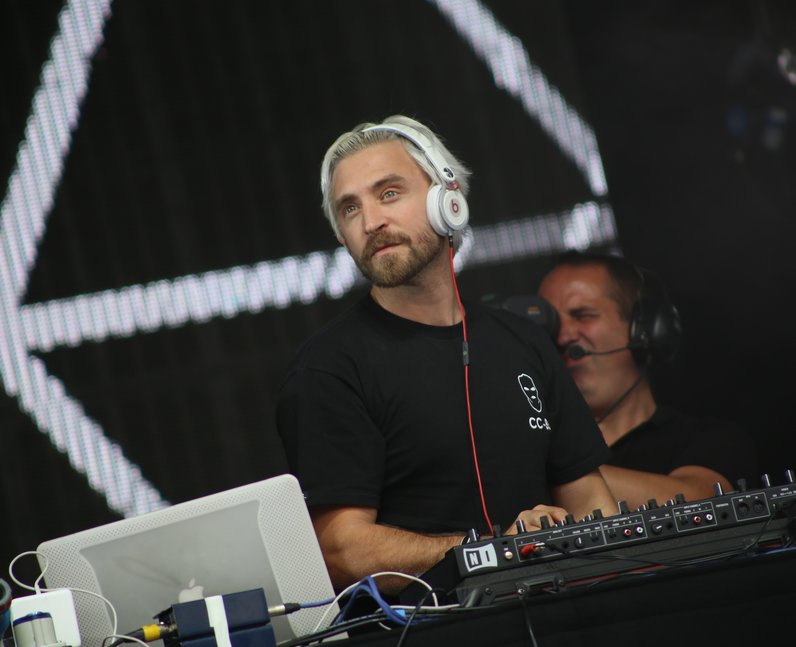 DJ Fresh at Fusion Festival 2015