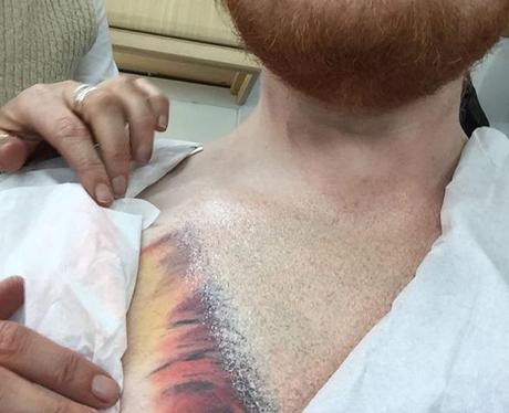Ed Sheeran Lion Tattoo Instagram