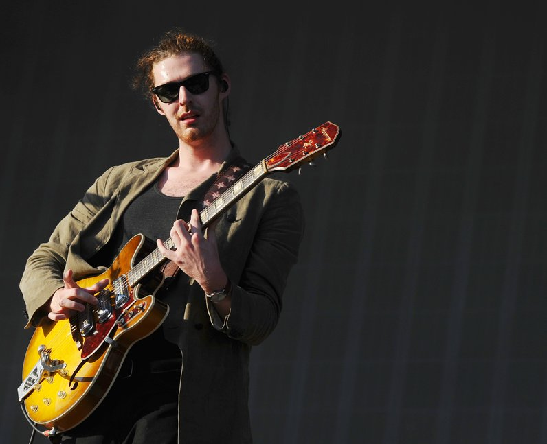 Hozier at V Festival 2015