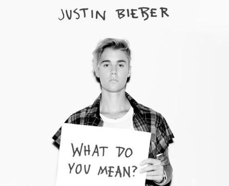 Justin Bieber What Do You Mean Single Artwork