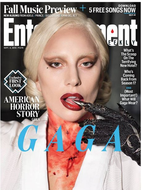Lady Gaga Entertainment Weekly 2015
