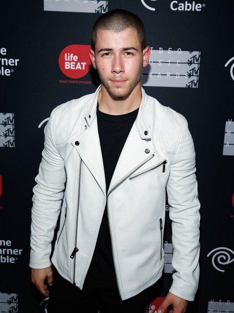 Nick Jonas at 2015 MTV Video Music Awards Benefit