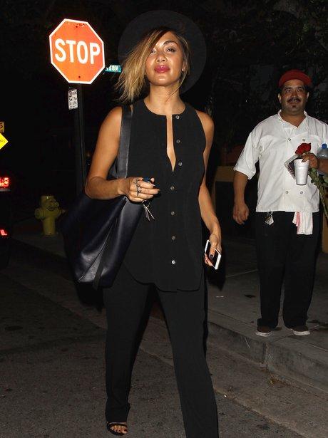 Nicole Scherzinger all black