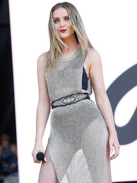 Perrie Edwards on stage