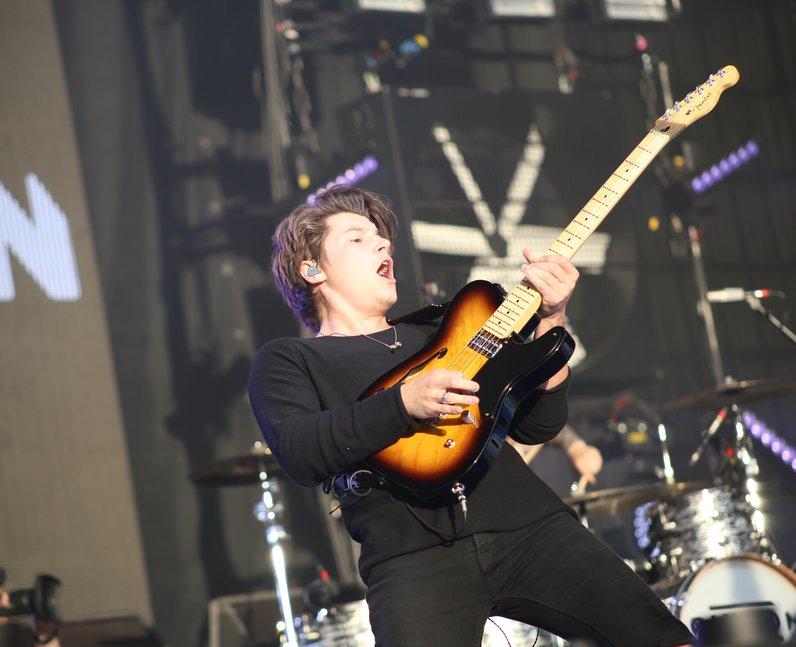 Rixton live at Fusion Festival 2015