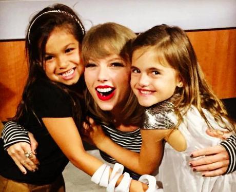 Taylor Swift and Alessandra Ambrosio's kids