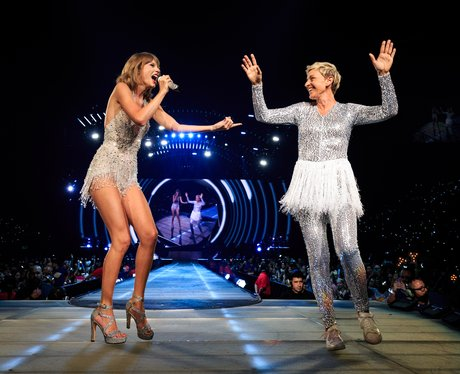 Taylor Swift and Ellen DeGeneres 1989 Tour