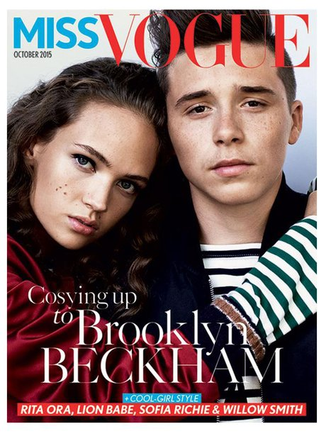 Brooklyn Beckham Miss Vogue Magazine 2015