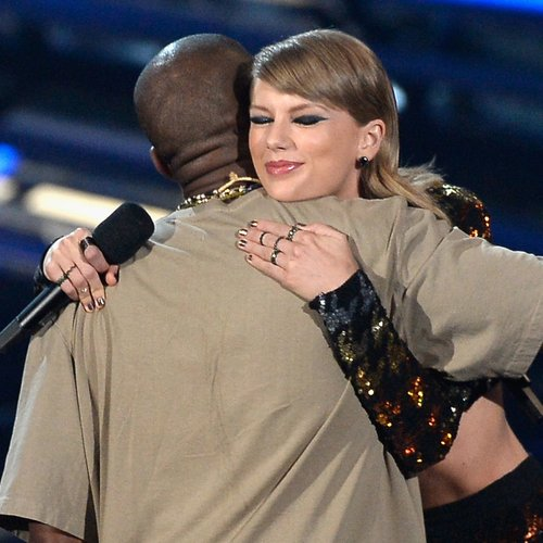 Kanye West and Taylor Swift vmas 2015